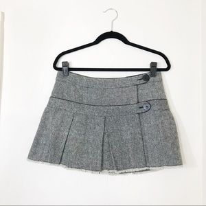 Volcom | Tweed Alabama Pleated Mini Skirt